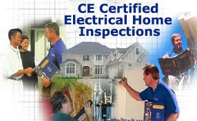 CE certified electrical home pro inspections